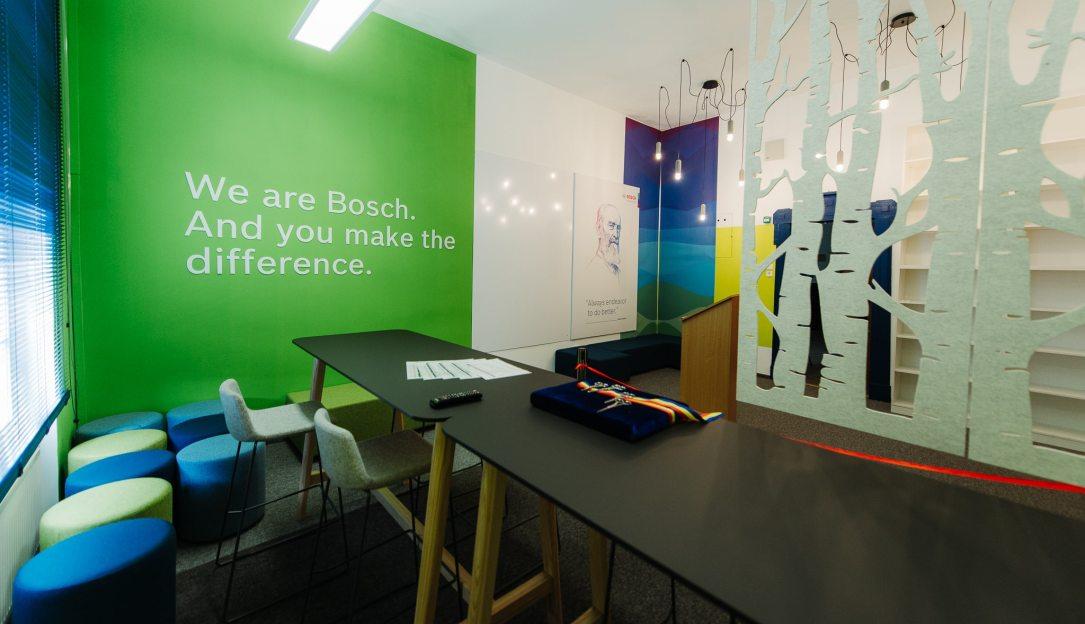 Fabrica Bosch din Blaj investește în pregătirea studenților pentru viitorul muncii și lucrul cu noile tehnologii